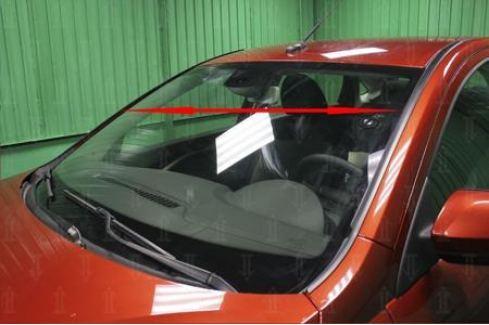 Дефлектор лобового стекла 21.ST2 Allest для Mazda 3 2013-2017 3 (2013 - 2017)