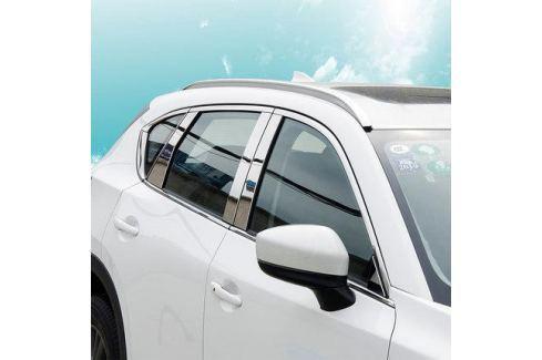 Хромированные накладки на стойки дверей для Mazda CX-5 2017 - CX-5 New (2017 - по н.в.)