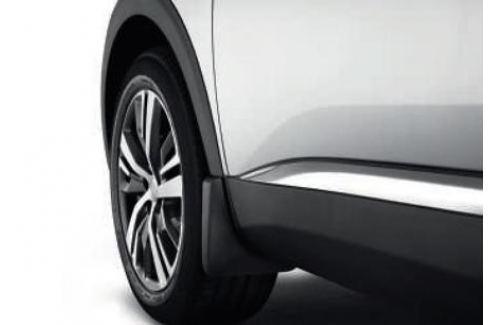 Брызговики передние и задние (кроме GT) для Peugeot 3008 2017 - 3008 ( 2017 - по н.в. )