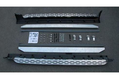 Пороги OEM, чёрные OEM-Tuning CNT23-16XC90-005B для Volvo XC90 2015- XC90 (2015 - по н.в.)