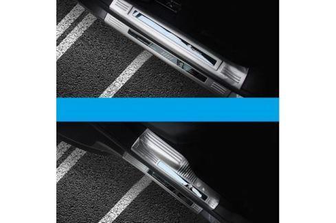 Накладки на пороги внешние + внутренние для Peugeot 3008 2017- 3008 ( 2017 - по н.в. )